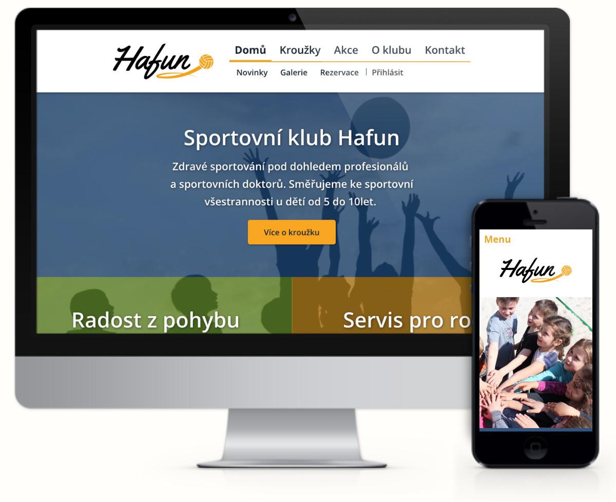 Hafun – sportovní klub pro děti